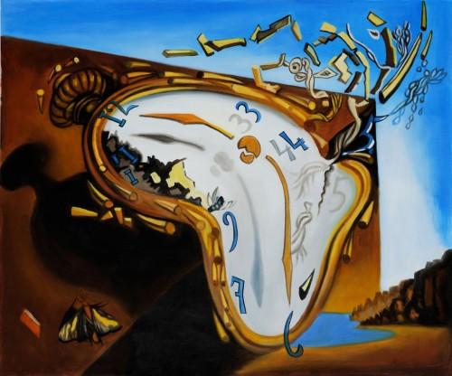 Salvador Dalí - Relógios Moles